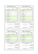 임대료 납입통지서/수납 의뢰서 및 납입영수증