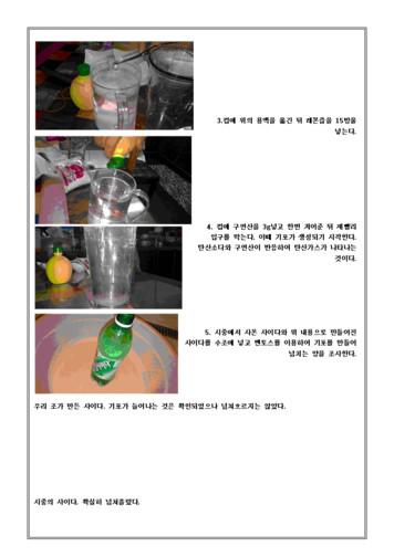 사이다 만들기 과학탐구 보고서 page 2