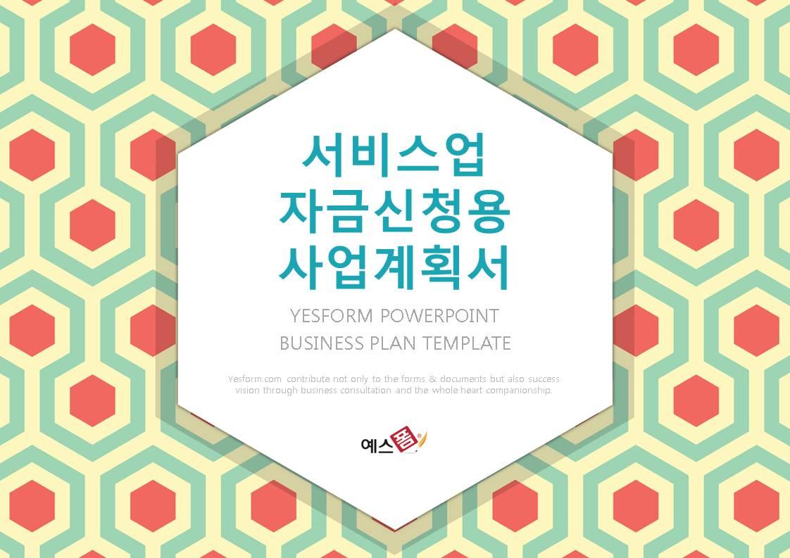 서비스업 표준 사업계획서(자금조달용)-미리보기