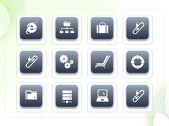 파워포인트 클립아트 인터넷, 에스칼레이터, 노트북, 신용카드