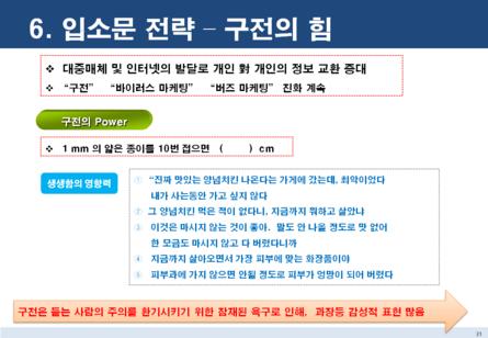 점포 창업 마케팅전략 보고서 #29