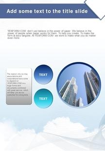 도시 건설(공사) 배경 PPT Templates