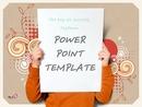 일러스트 디자인(광고) 배경 PPT 템플릿