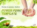 환경 보호(자연) 파워포인트 배경 템플릿