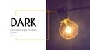 어둠(Dark) 파워포인트 테마