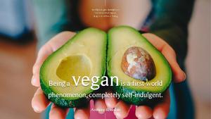채식주의(Vegan) 테마 슬라이드
