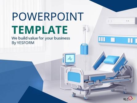 병원 병실 (의료) PPT 배경템플릿