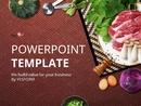 다양한 식재료 (음식) 파워포인트 배경화면