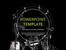 파워포인트 배경 (예술) 드럼과 음악