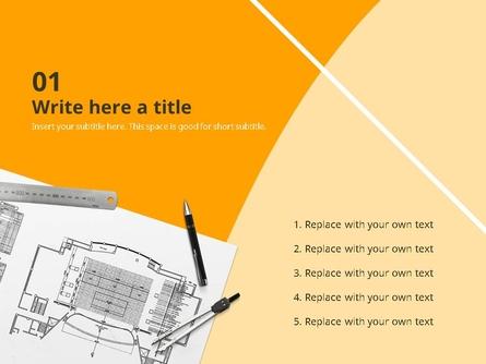 설계도면 (건축) PPT 표지