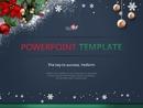 크리스마스 테마 파워포인트 배경화면 디자인