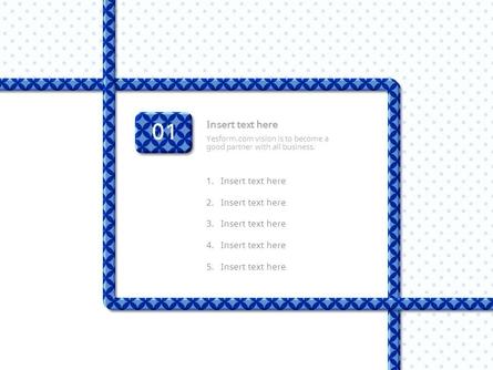 (패턴) 다이아 효과넣은 굵은 파란선