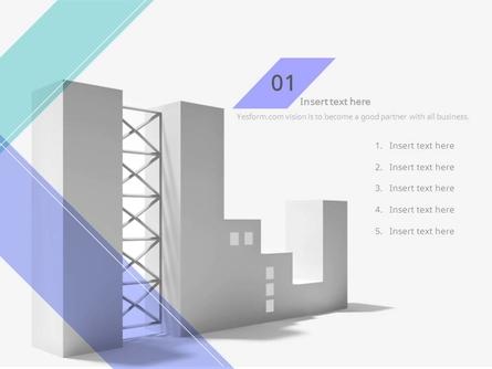(패턴) 연보라 사선 건물배경