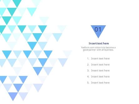 (패턴) 에메랄드색 반짝이는 삼각형