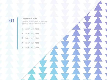 (패턴) 연보라 그라데이션 삼각형