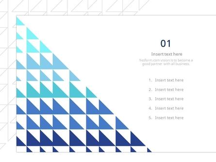 (패턴) 블루계열 반짝이는 삼각형,선으로된 삼각형