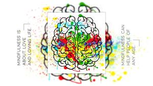 마음챙김(Mindfulness) 파워포인트 테마