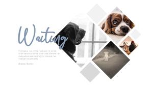 기다림(Waiting) 테마 슬라이드