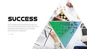성공(Success) 테마 PPT Slides