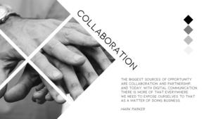 협동(Collaboration) 파워포인트 테마