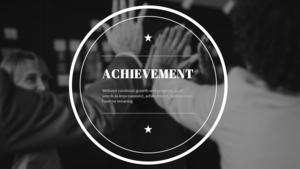 성취(Achievement)  Theme PPT Slides