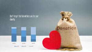 기부(Donation) 테마 PPT Slides