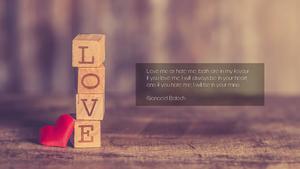 사랑(LOVE) PPT 테마