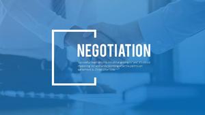협상(Negotiation) PPT Theme Slides