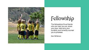 동료애(Fellowship)  파워포인트 테마