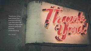 감사(Thank you) 파워포인트 테마