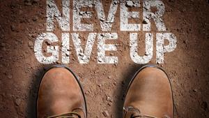 포기하지 마(Never give up) 테마 슬라이드