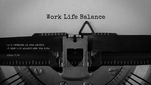 일과 삶의 균형(Work and Life Balance) 테마 슬라이드