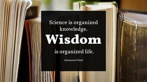 지혜(Wisdom) PPT 테마