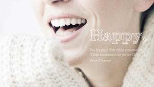 행복(Happy) 테마 슬라이드
