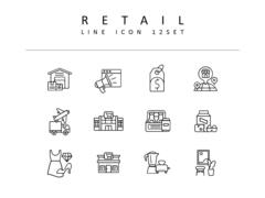 리테일 라인 아이콘 3종세트(1)