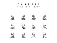 직업 라인 아이콘 3종세트(1)