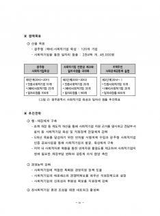 사회적기업 육성기본계획 연구보고서(광주광역시) #11