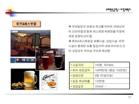 식당노래방모텔근린생활시설자금조달용 사업계획서 #16