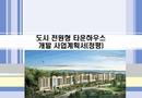 도시 전원형 타운하우스 개발 사업계획서(청평)