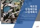 제조업 표준 사업계획서(입점제안용)(2)