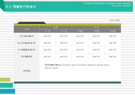 도소매업 표준 사업계획서(자금조달용) #44