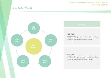 도소매업 표준 사업계획서(회사소개용) #3