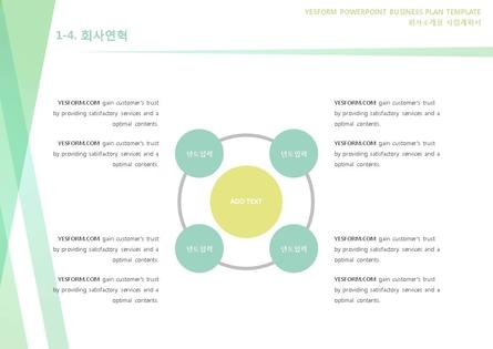 도소매업 표준 사업계획서(회사소개용) #6