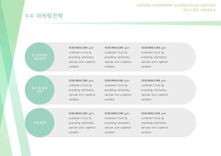 도소매업 표준 사업계획서(회사소개용) #19