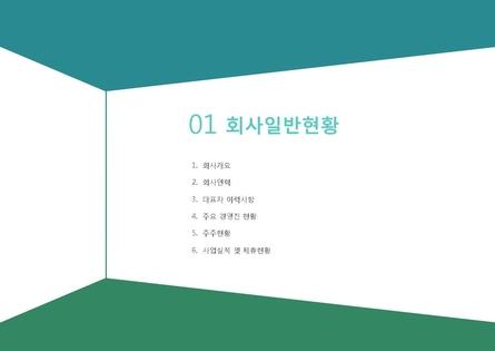 도소매업 표준 사업계획서(영업제안용) #2