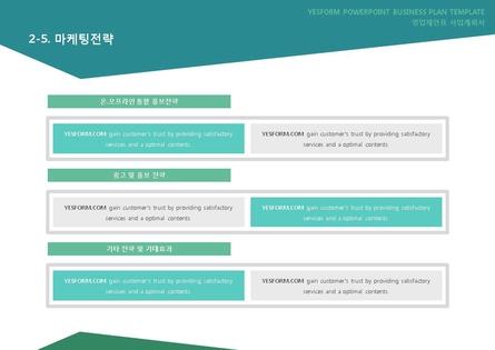 도소매업 표준 사업계획서(영업제안용) #14