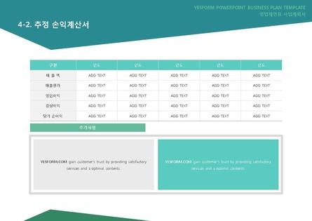 도소매업 표준 사업계획서(영업제안용) #26