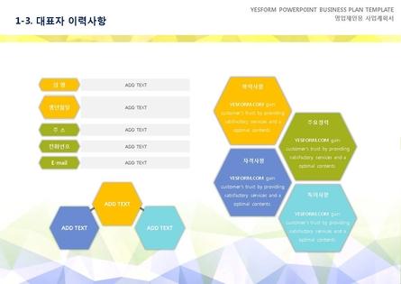 도소매업 표준 사업계획서(영업제안용) #5