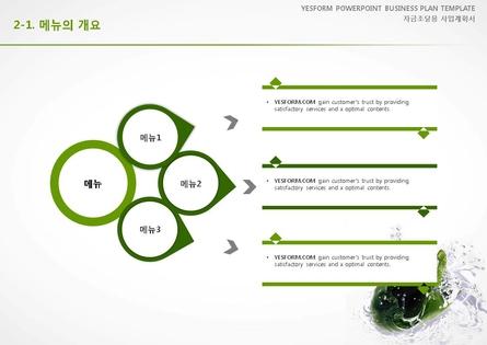 음식.외식업 표준 사업계획서(자금조달용) #9