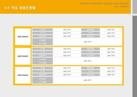 서비스업 표준 사업계획서(서비스업 일반) #6